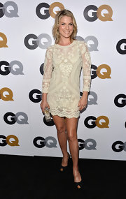 Ali Larter went nude in this lacy mini at the GQ Men of the Year Party.