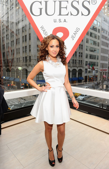 More Pics of Adrienne Bailon Long Curls (3 of 6) - Adrienne Bailon Lookbook - StyleBistro