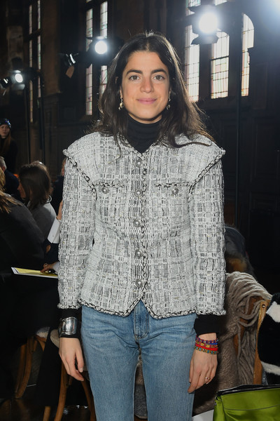 More Pics of Leandra Medine Classic Jeans (1 of 3) - Leandra Medine Lookbook - StyleBistro