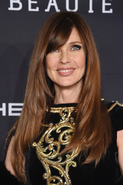 Carol Alt was stylishly coiffed with this long layered cut at the Angel Ball 2016.