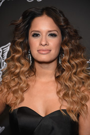 Rocsi Diaz looked super sassy with her high-volume ombre curls at the Angel Ball.