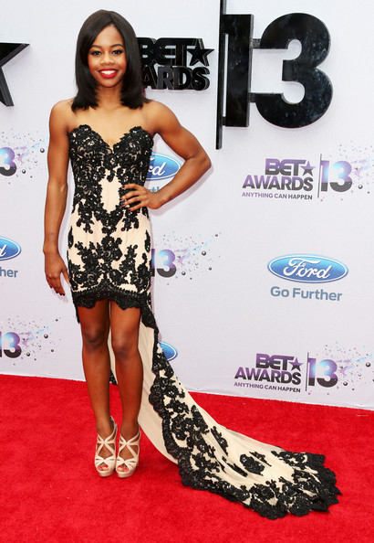 Gabrielle Douglas Fishtail Dress