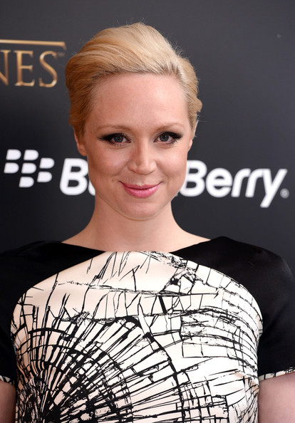 More Pics of Gwendoline Christie Print Dress (2 of 3) - Gwendoline Christie Lookbook - StyleBistro