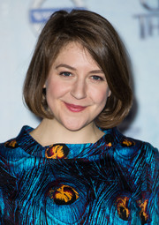Gemma Whelan kept it simple with this bob when she attended the 'Game of Thrones' season 4 premiere in London.