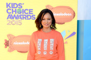 Garcelle Beauvais Crewneck Sweater