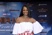 Garcelle Beauvais Off-the-Shoulder Top