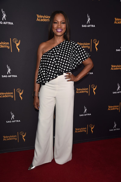 Garcelle Beauvais One-Shoulder Top