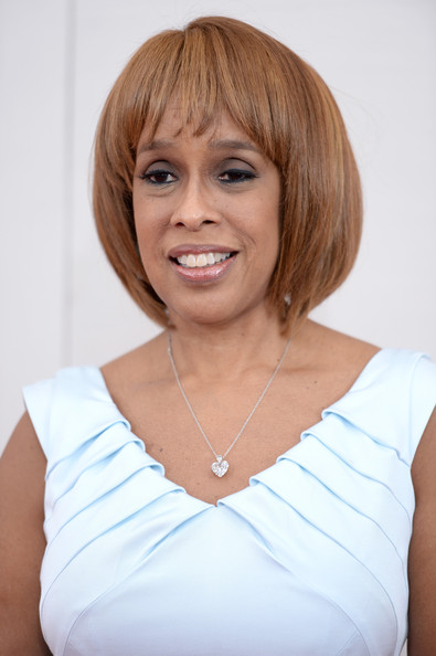 Gayle King Bob [the hundred-foot journey,hair,face,hairstyle,blond,chin,bob cut,lip,layered hair,shoulder,bangs,gayle king,nyc,ziegfeld theater,premiere]