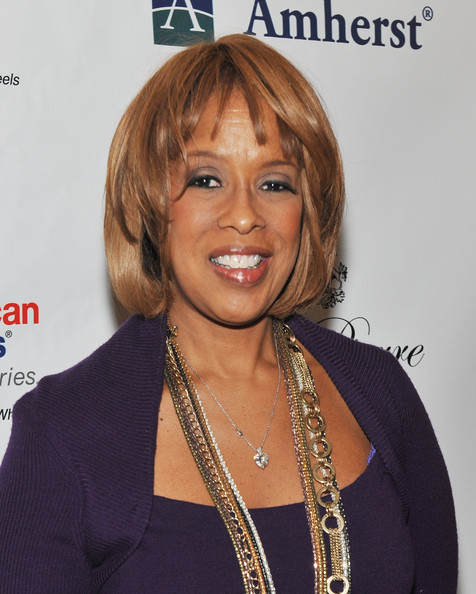 Gayle King Bob [hair,hairstyle,blond,layered hair,bob cut,long hair,bangs,brown hair,hair coloring,smile,women,gayle king,power lunch,power lunch for women,new york city,the pierre hotel]