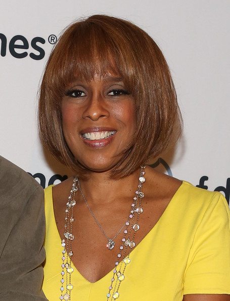 Gayle King Graduated Bob