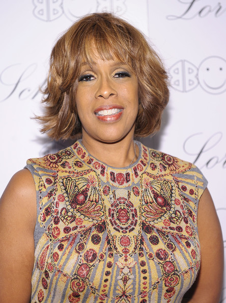 Gayle King Layered Razor Cut [beyonce knowles hosts the launch of ``2bhappy jewelry collection,hair,hairstyle,blond,brown hair,bangs,cocktail dress,dress,neck,bob cut,premiere,lorraine schwartz,gayle king,2bhappy,jewelry collection,new york city,lavo nyc,launch]