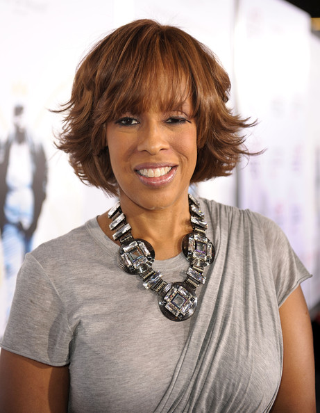 Gayle King Layered Razor Cut