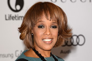 Gayle King Short cut with bangs