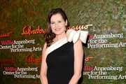 Geena Davis One Shoulder Dress