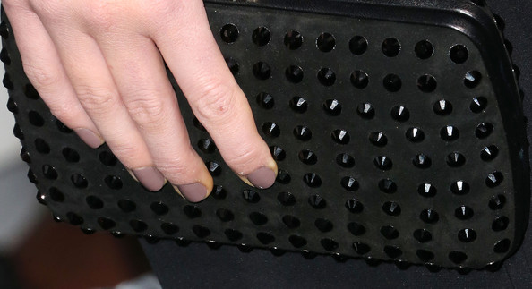 Gemma Arterton Studded Clutch