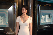 Gemma Arterton Cutout Dress