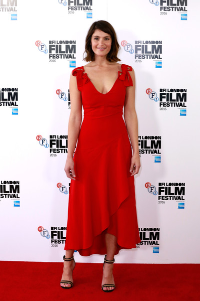 Gemma Arterton Midi Dress