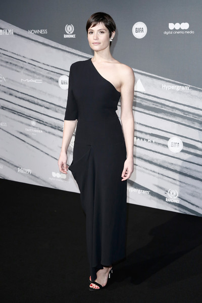 Gemma Arterton One Shoulder Dress