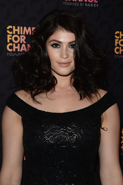 Gemma Arterton Medium Wavy Cut