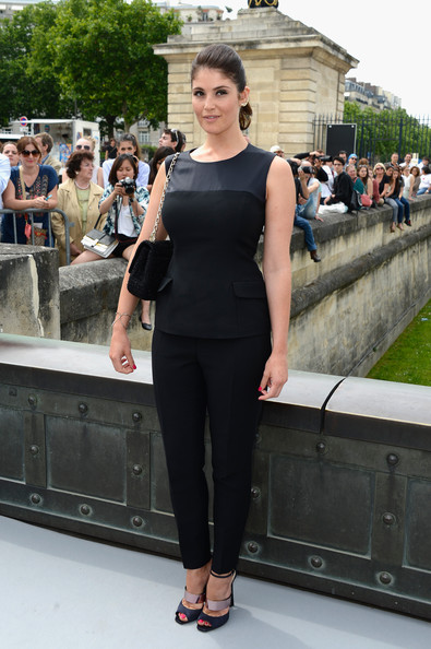 Gemma Arterton Fitted Blouse