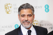 George Clooney Classic Solid Tie