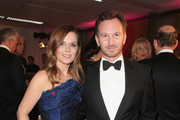 Geri Halliwell Leather Clutch