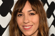 Gia Coppola Medium Wavy Cut with Bangs