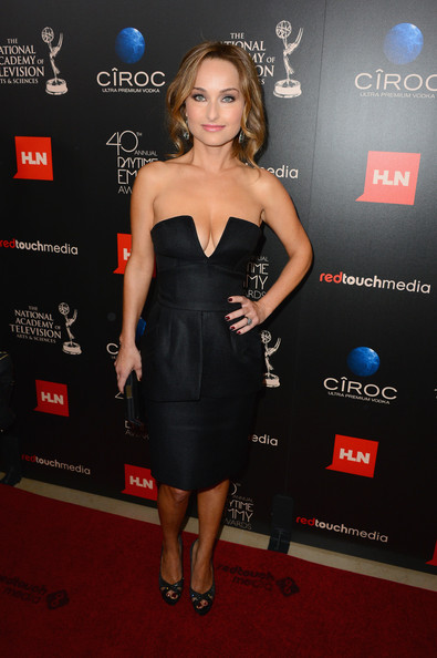 Giada De Laurentiis Little Black Dress