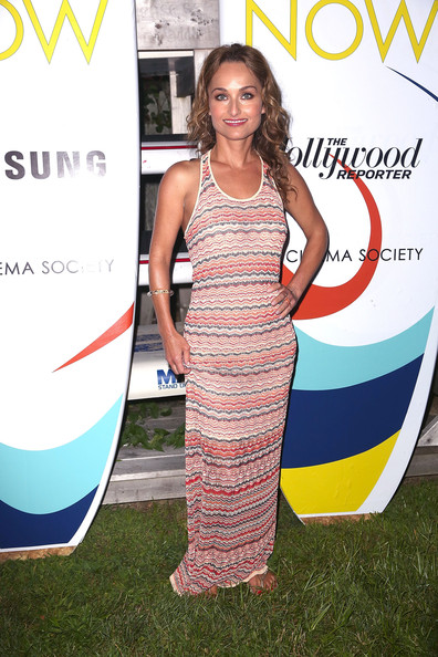 Giada De Laurentiis Maxi Dress