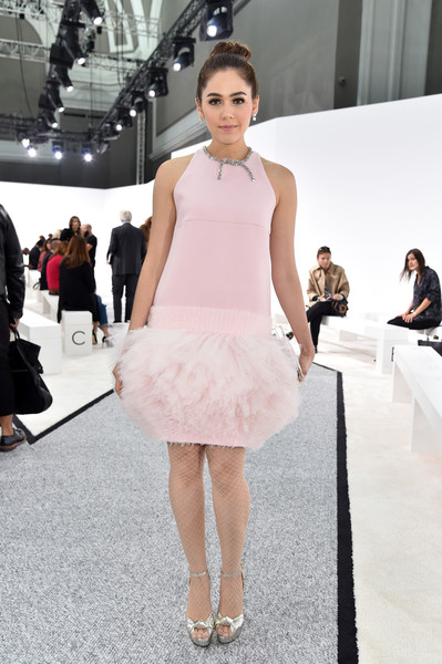 Araya A. Hargate at Giambattista Valli