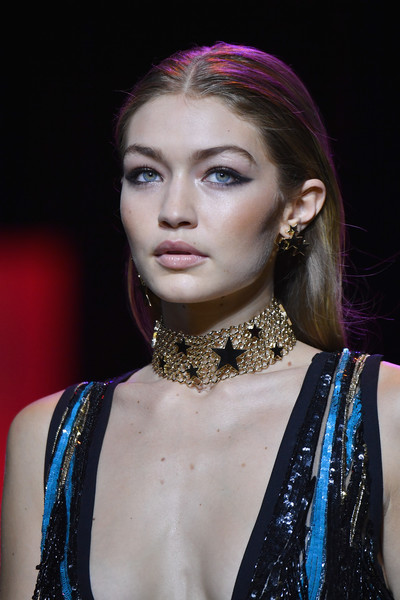 Gigi Hadid Gold Choker Necklace