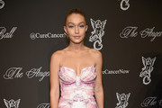 Gigi Hadid Strapless Dress