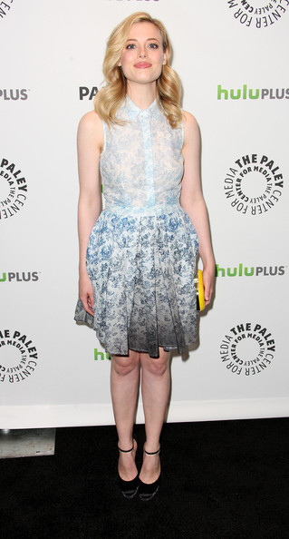 Gillian Jacobs Shirtdress