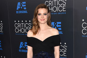 Gillian Jacobs Off-the-Shoulder Dress