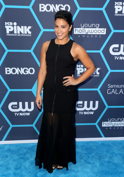 Gina Rodriguez Evening Dress