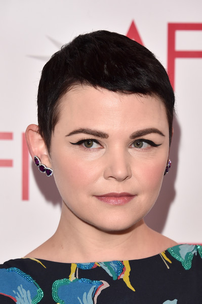 Ginnifer Goodwin Cat Eyes [photograph,image,eyebrow,beauty,hairstyle,chin,lip,eyelash,cheek,fashion model,forehead,black hair,arrivals,ginnifer goodwin,hairstyle,pixie cut,hairstyle,photography,los angeles,afi awards,ginnifer goodwin,pixie cut,hairstyle,the late late show with james corden,short hair,image,photograph,photography]