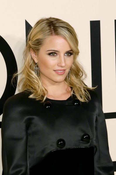 More Pics of Dianna Agron Little Black Dress (3 of 10) - Dianna Agron Lookbook - StyleBistro