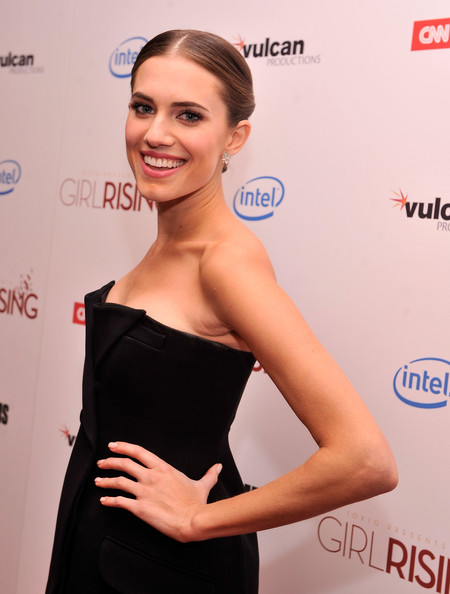 More Pics of Allison Williams Diamond Studs (2 of 12) - Earring Studs Lookbook - StyleBistro