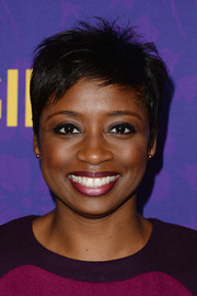 Montego Glover sported a spiked pixie during the 'Girls' season 3 premiere.
