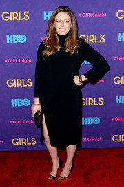 Natasha Lyonne was classic and sophisticated in a turtleneck LBD during the 'Girls' season 3 premiere.