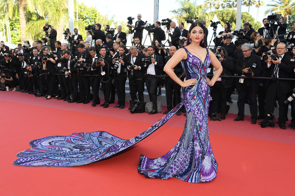 Aishwarya Rai (In Michael Cinco Couture) As Jasmine, 2018