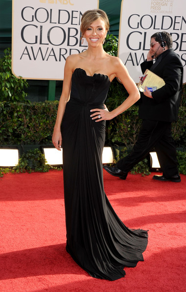 TV personality Giuliana Rancic arrives at the 68th Annual Golden Globe