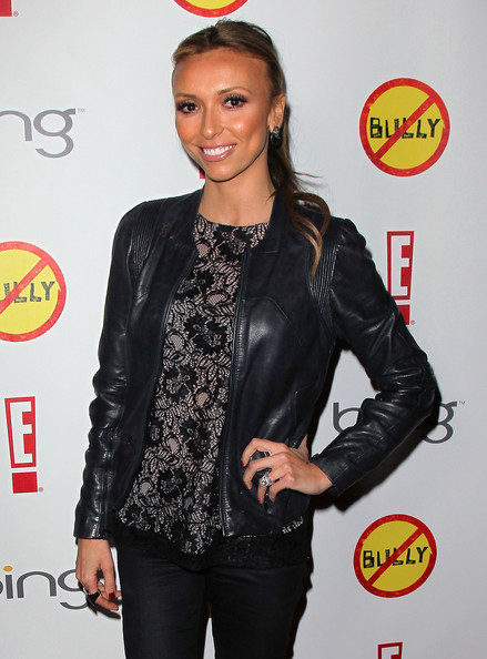 Giuliana Rancic Leather Jacket