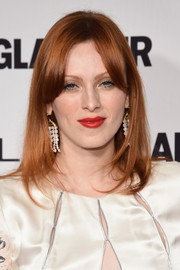 Karen Elson wore her hair in a face-framing mid-length bob during the Glamour Women of the Year Awards.