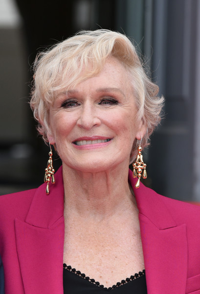 Glenn Close Gold Chandelier Earrings