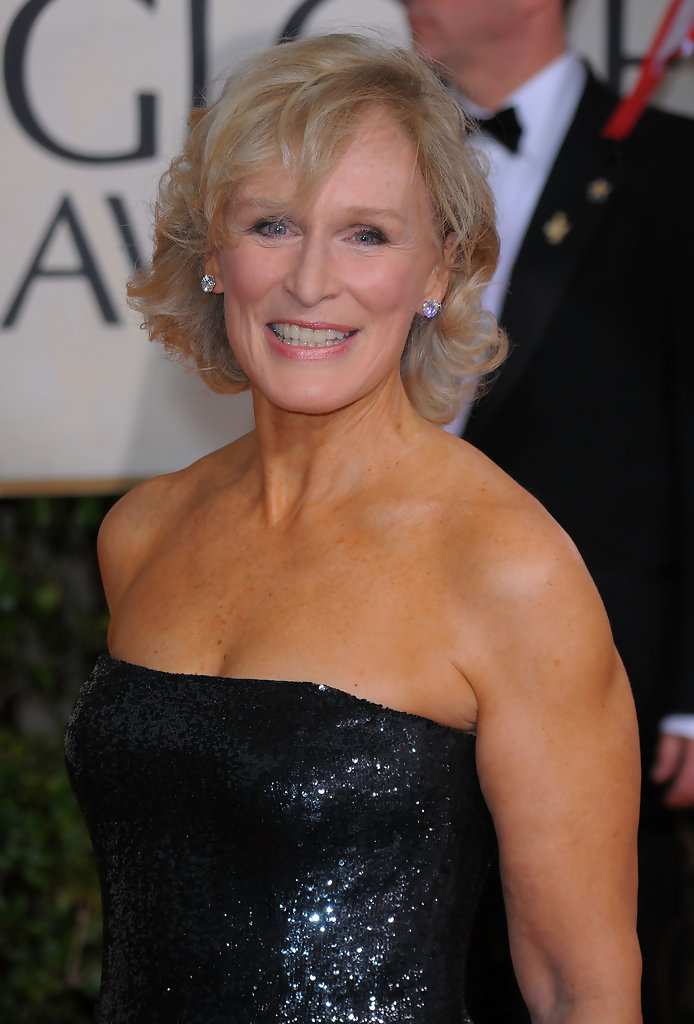 Glenn Close Diamond Studs Glenn Close Looks Stylebistro