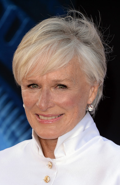 More Pics Of Glenn Close Short Cut With Bangs 4 Of 17