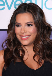 Eva Longoria rocked messy-glam curls at the Global Gift Foundation Women's Empowerment Luncheon.