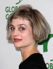 Alison Sudol sported a short bob at the Global Green USA pre-Oscar party.