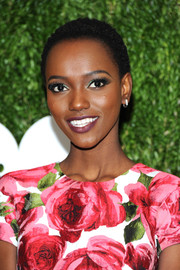 Herieth Paul wore her hair in close-cropped curls at the 2018 Golden Heart Awards.